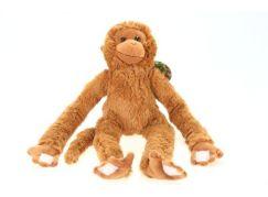 Plyš Opice světlá
