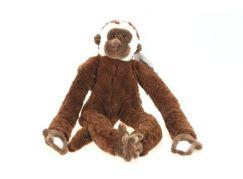 Plyš Opice tmavá