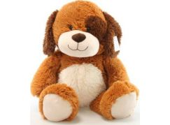 Plyš pes hnědý 56 cm