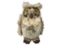 Plyšová sova 23cm