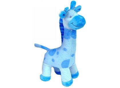 Plyšová žirafa stojící 24cm - Modrá