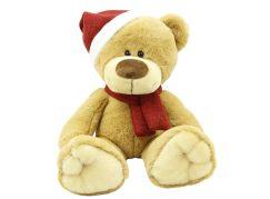 Plyšové zvířátko Medvídek s čepicí 25cm