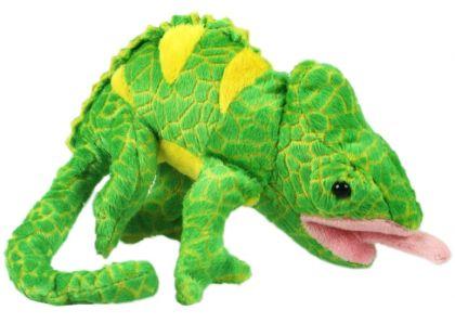 Plyšový chameleon 17cm