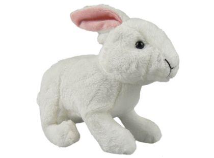 Plyšový králík 18cm - Bílá