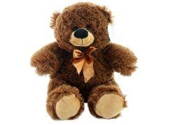 Plyšový Medvěd tmavý menší 35 cm