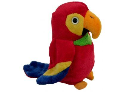 Plyšový papoušek 14cm