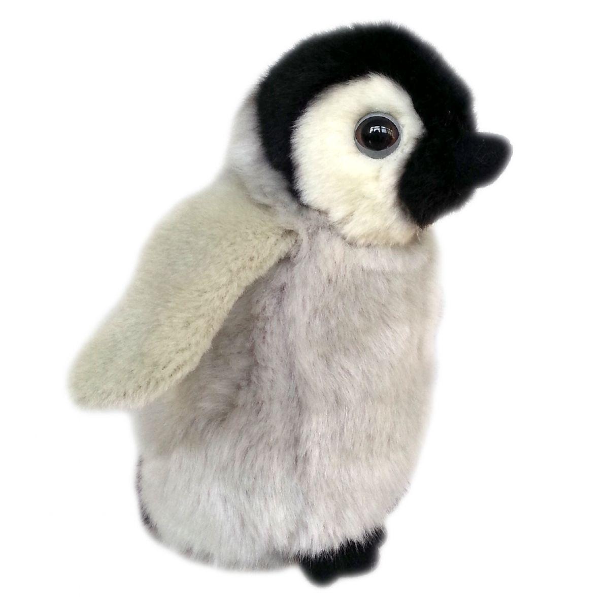 Plyšový tučňák mládě 18cm