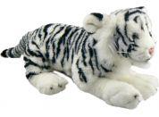 Plyšový Tygr bílý 41cm