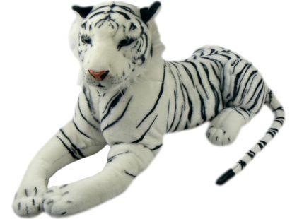 Plyšový Tygr bílý 84cm
