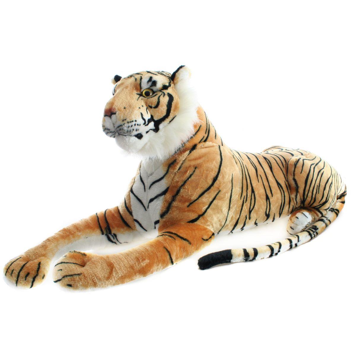 Plyšový Tygr hnědý 110 cm