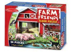 Podlahové puzzle Farma 24 dílků