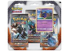 Pokémon SM3 Burning Shadows 3 Blister Booster