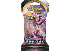 Pokémon TCG: SWSH02 Rebel Clash 1 Blister Booster č.1