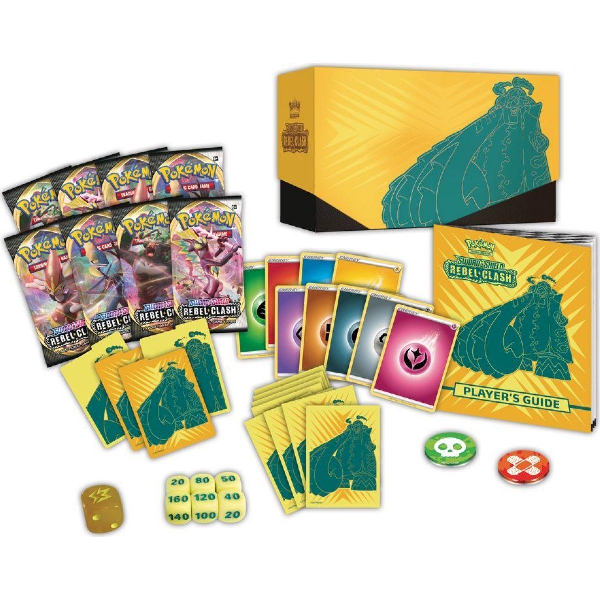Pokémon TCG: SWSH02 Rebel Clash Elite Trainer Box