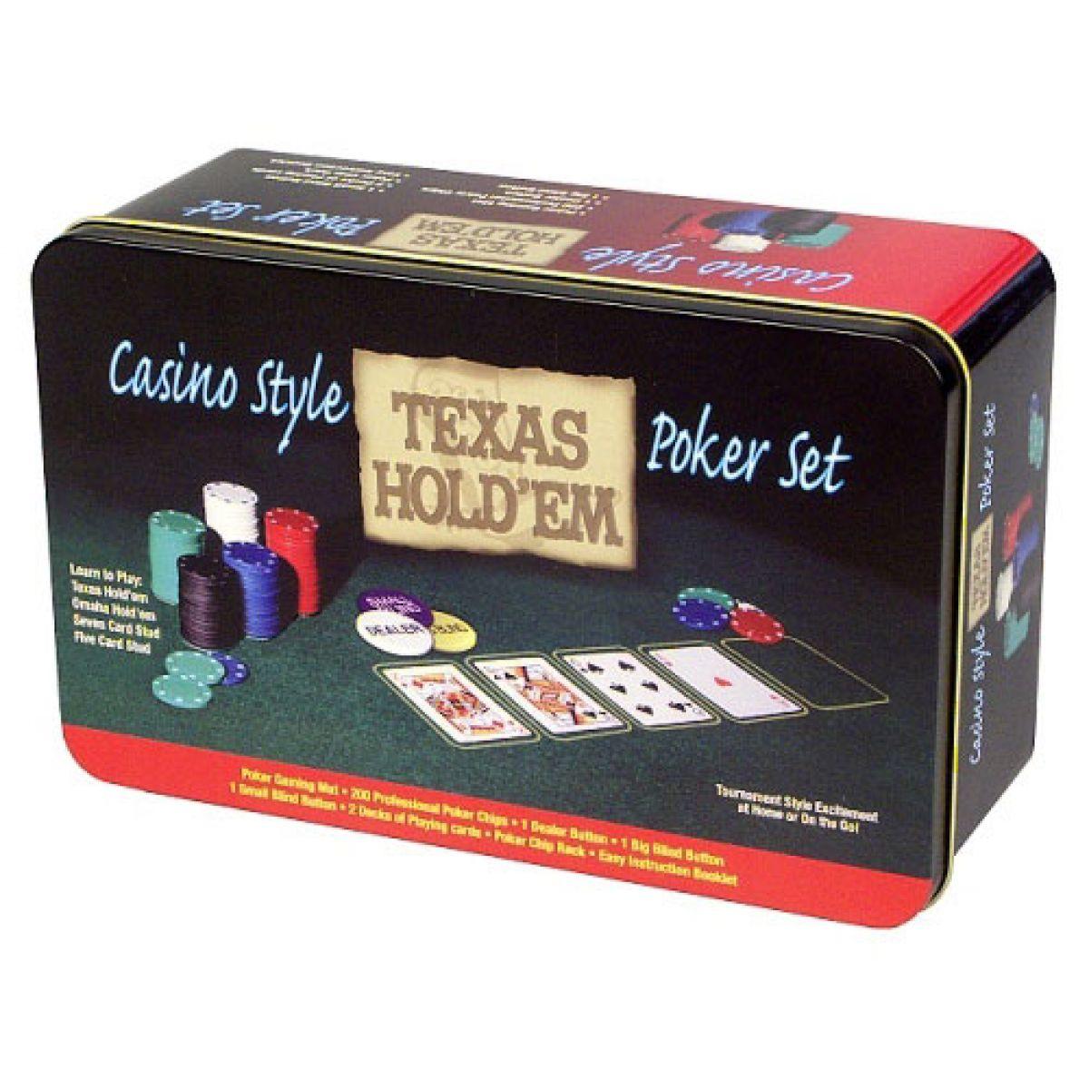 Poker economy v plechové krabici