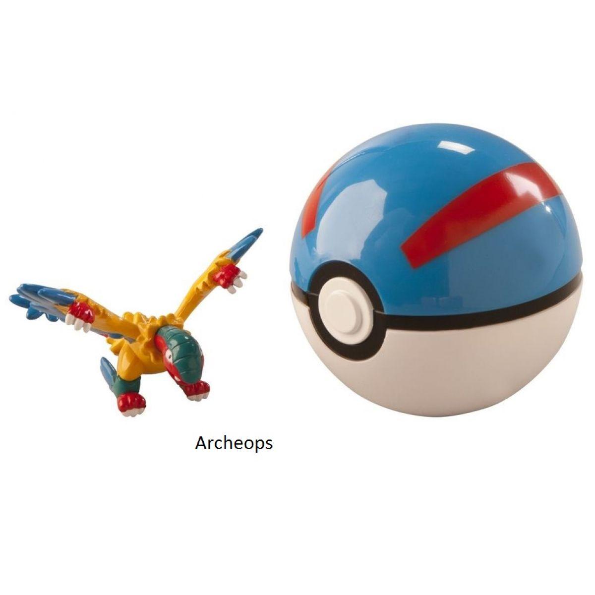Pokémon Pokéball s figurkou - Archeops