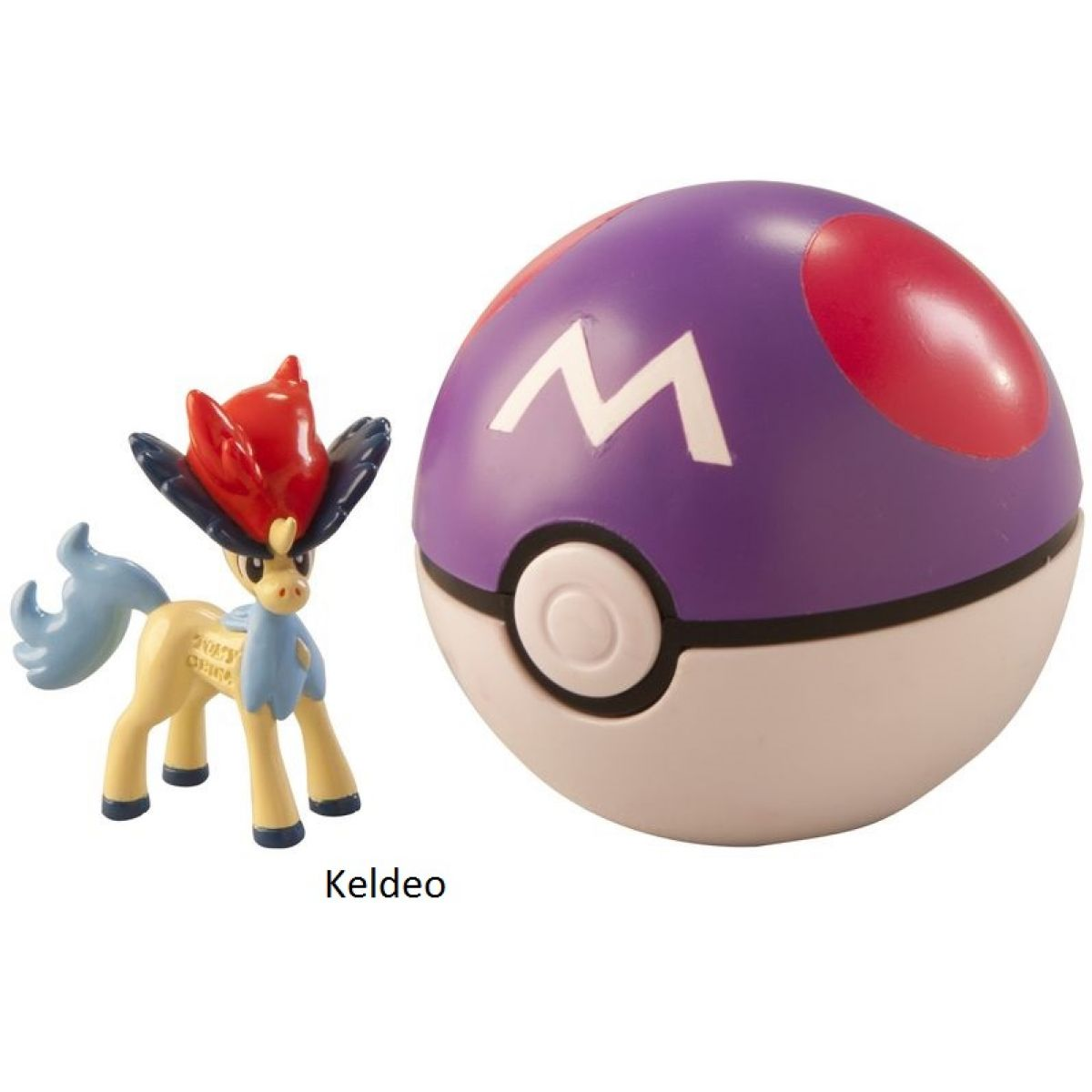 Pokémon Pokéball s figurkou - Keldeo
