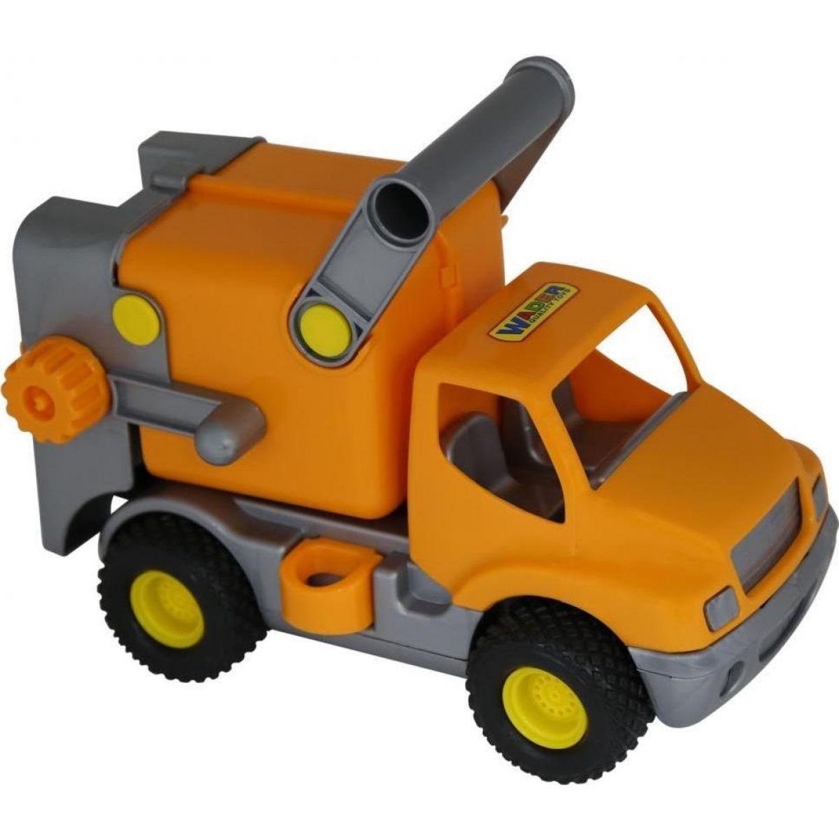 Polesie Auto ConsTruck popeláři - oranžové
