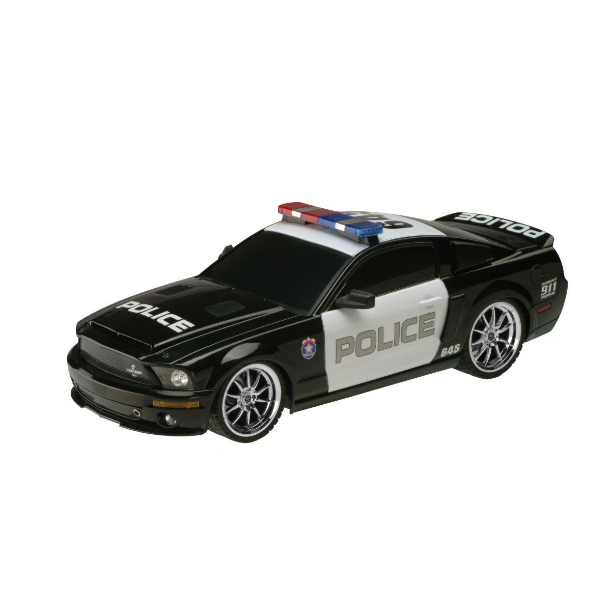 Policejní RC auto Ford GT 500 1:18
