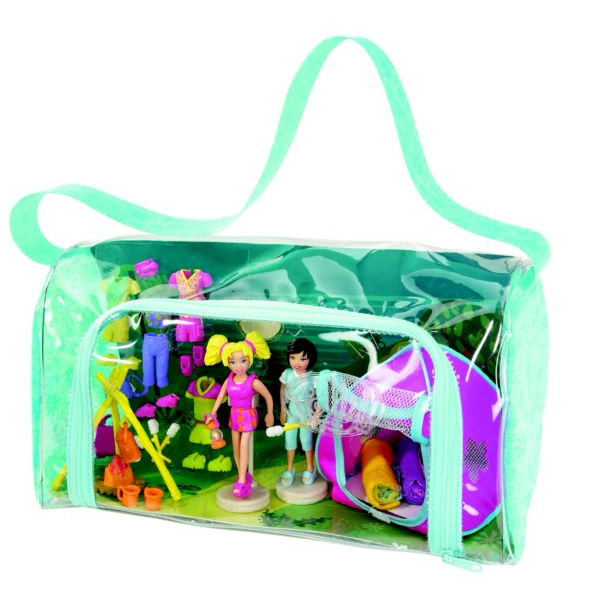PollyPocket Taška na camping Mattel