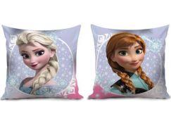 Polštář Frozen Anna a Elsa 35 x 35 cm
