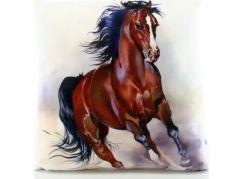 Polštářek kůň 33 x 33 cm