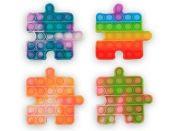Pop it hra puzzle duhové
