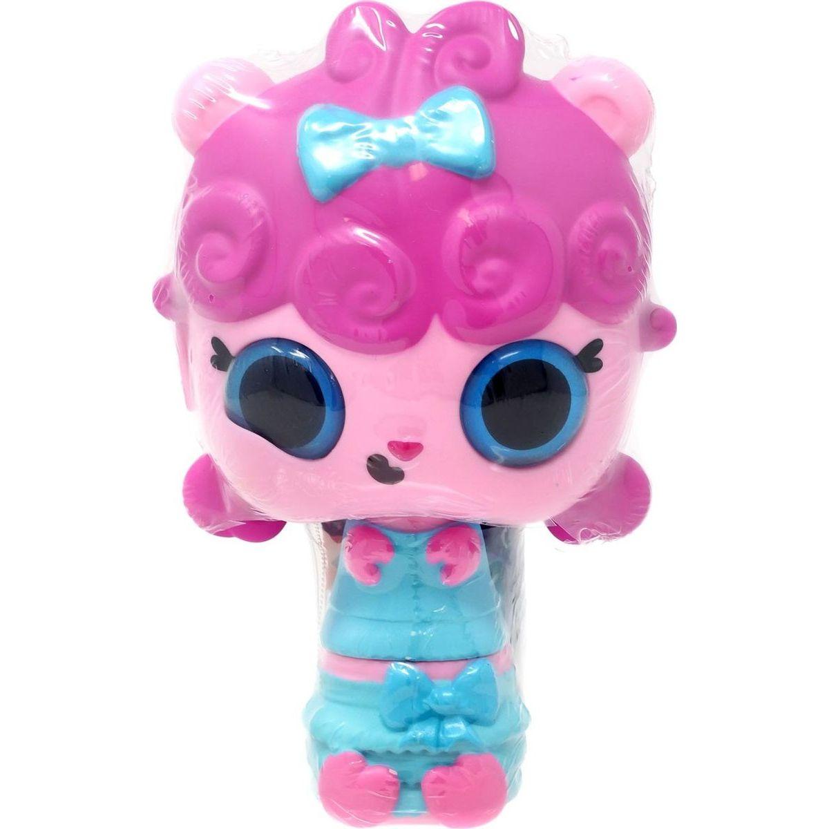 Pop Pop Hair Surprise 3-in-1 Pops 1. series růžové vlasy a mašličkou