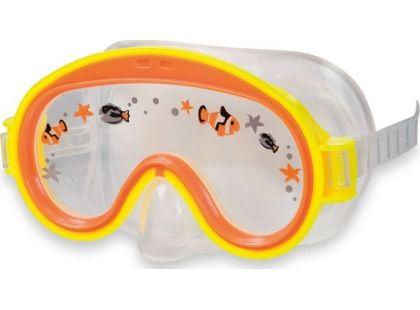 Potápěčské brýle Intex 55911 - Oranžová