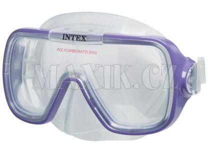 Potápěčské brýle Wave Rider Intex 55976 - Fialová