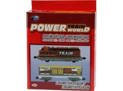 Power Train World Lokomotiva a vagón