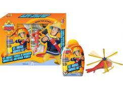 Požárník Sam sprchový gel 300 ml s vrtulníkem