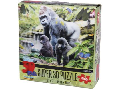 Prime 3D Puzzle Gorily 150 dílků