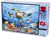 Prime 3D Puzzle Želvy 63 dílků