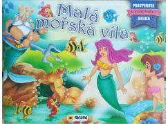 Prostorová kniha Malá mořská víla