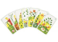 Prší jednohlavé karty pro děti Čtyři roční období