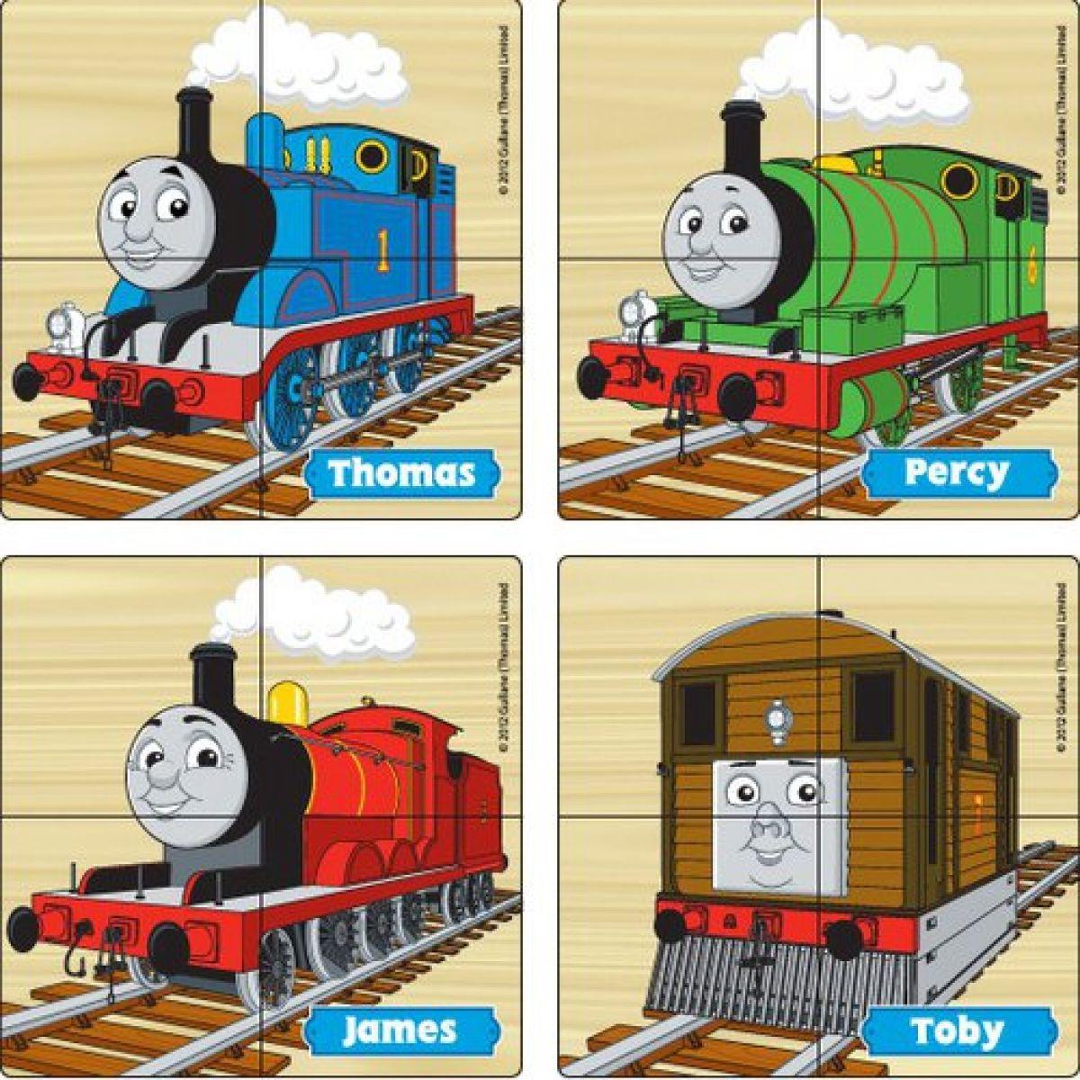 První dřevěné puzzle 16 ks