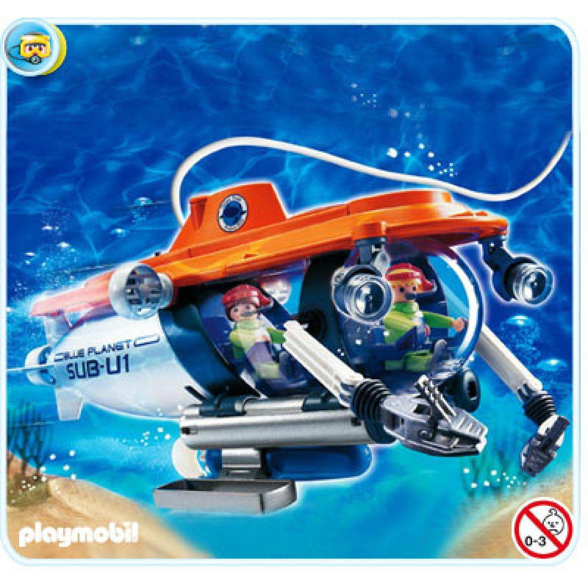 Průzkumná ponorka Playmobil 4473