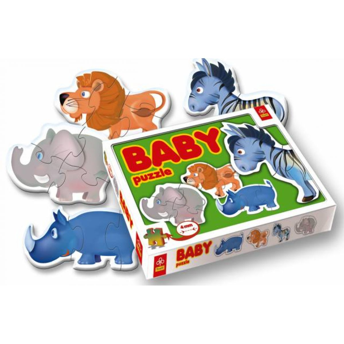 Puzzle  BABY zvířátka 12d