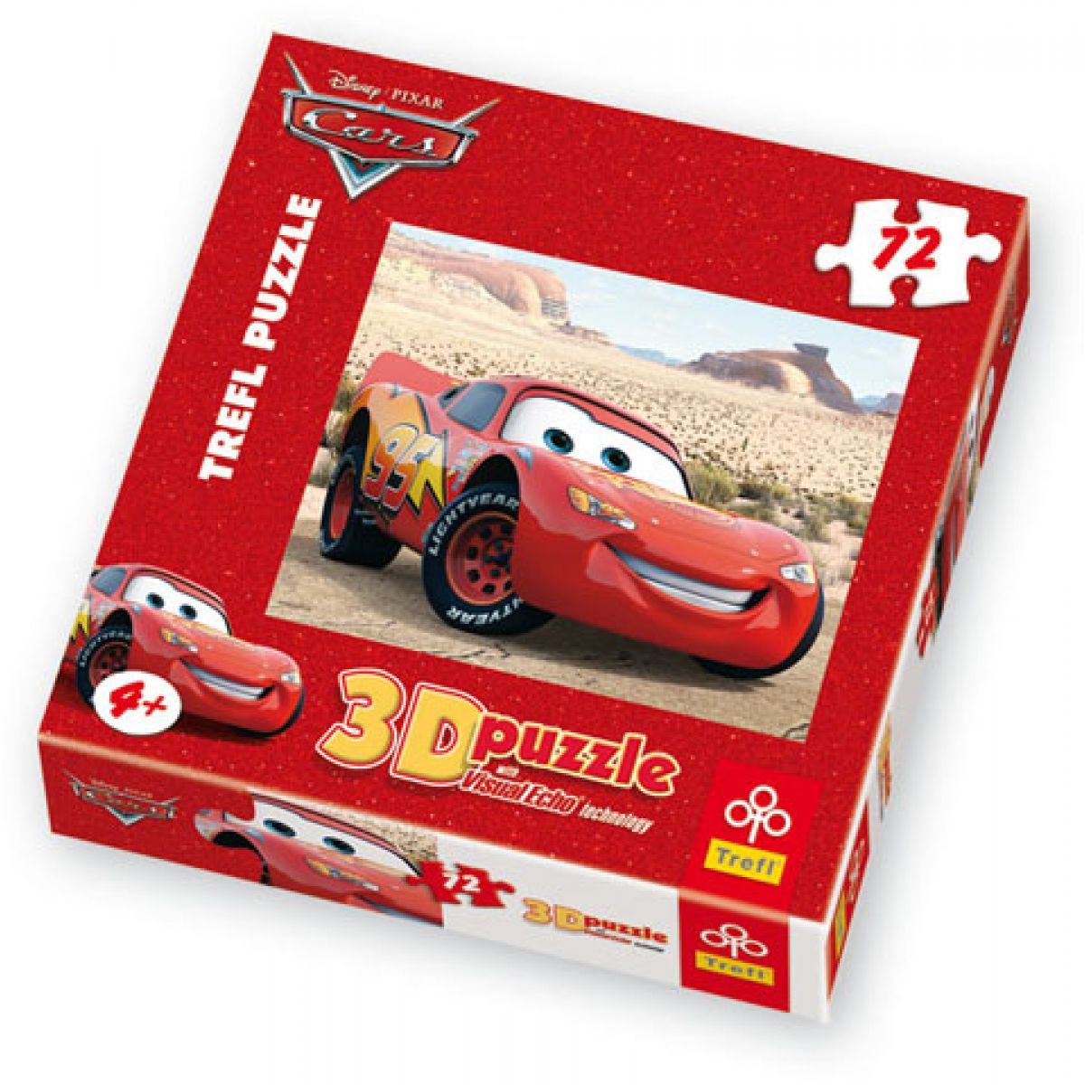 Puzzle 3D Cars 72d
