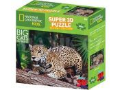 Puzzle 3D jaguár 100 dílků