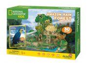 Puzzle 3D National Geographic Kids Amazonský dětský prales 67 dílků