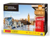 Puzzle 3D National Geographic Tower Bridge 120 dílků