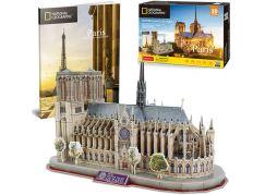 Puzzle 3D National Geographic Notre Dame 128 dílků