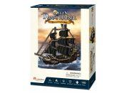 Puzzle 3D Queen Anne's Revenge 100 dílků