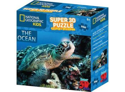 Puzzle 3D želva 100 dílků
