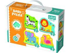 Puzzle baby Safari 4 ks
