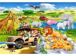 Castorland Puzzle MAXI 40 dílků Dobrodružství na Safari