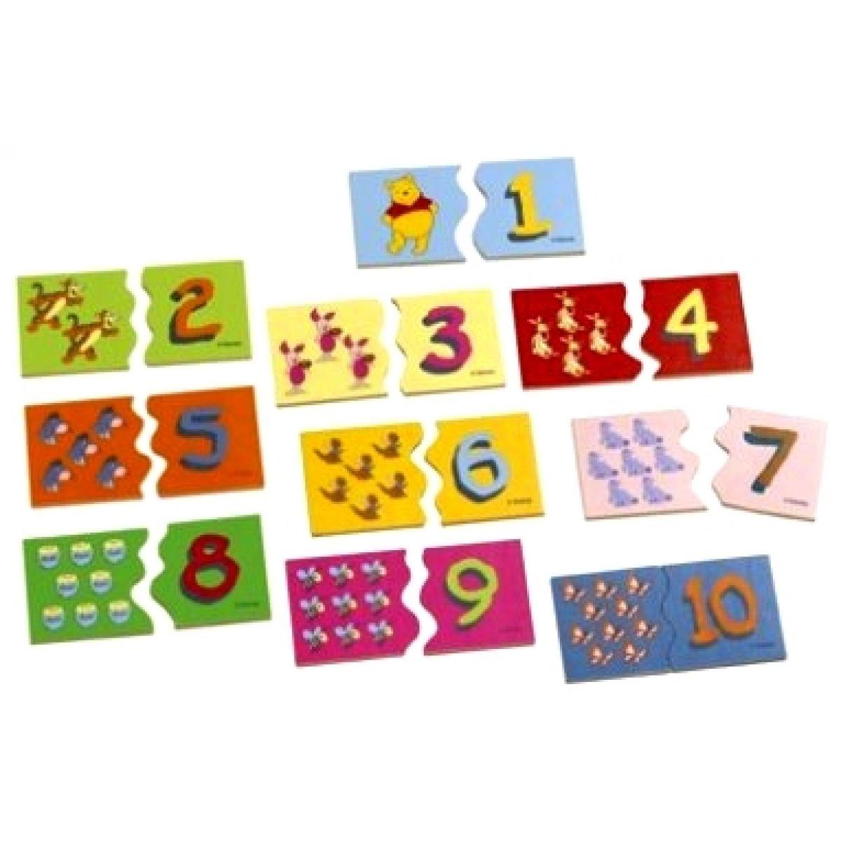 Puzzle dřevěné WTP s čísly