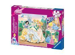 Puzzle Princezny 3x49d Ravensburger